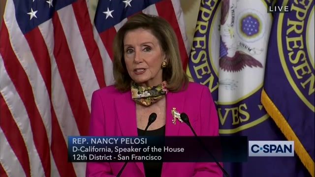 """Speaker Pelosi says Republican party & Executive Branch are in denial of science: """"The contempt for science must stop."""""""
