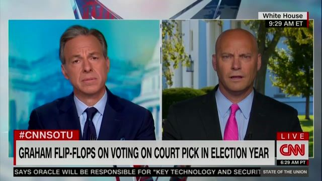 "VP Chief of Staff Marc Short on perceived SCOTUS hypocrisy: ""I reject the notion as hypocrisy."""