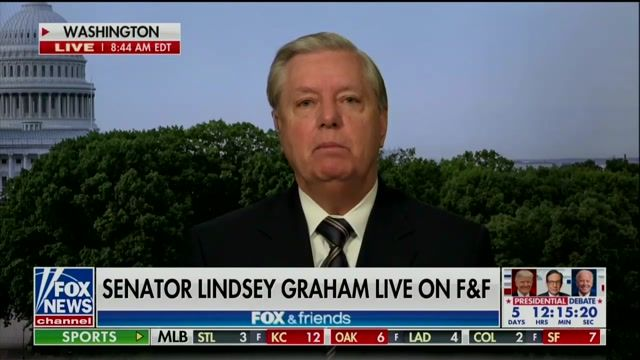 """Sen. Graham: """"My opponent will raise $100M ... I'm being killed financially. This money is 'cuz they hate my guts."""""""