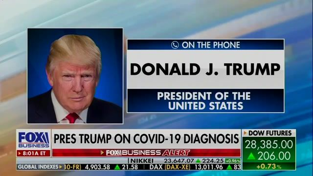 """Trump just now: """"I'm not gonna do a virtual debate ... I'm not gonna waste my time on a virtual debate."""""""