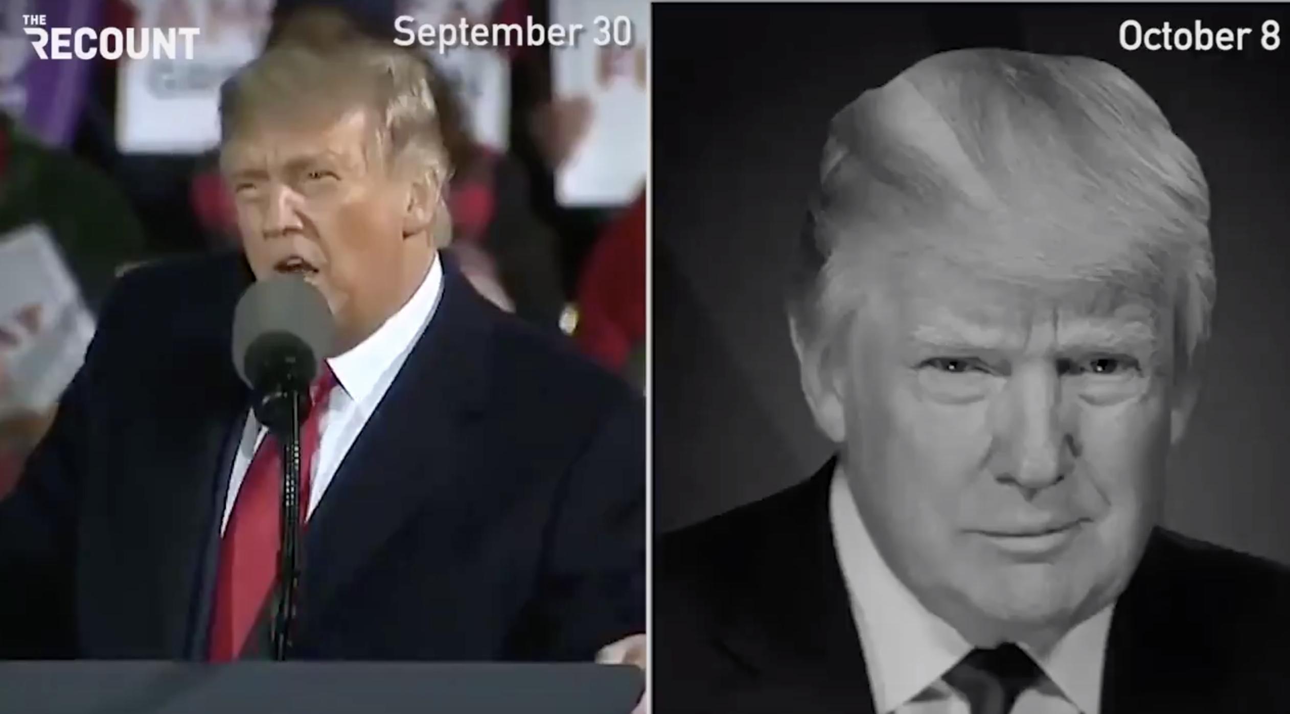 Trump Flip-Flops on Debates