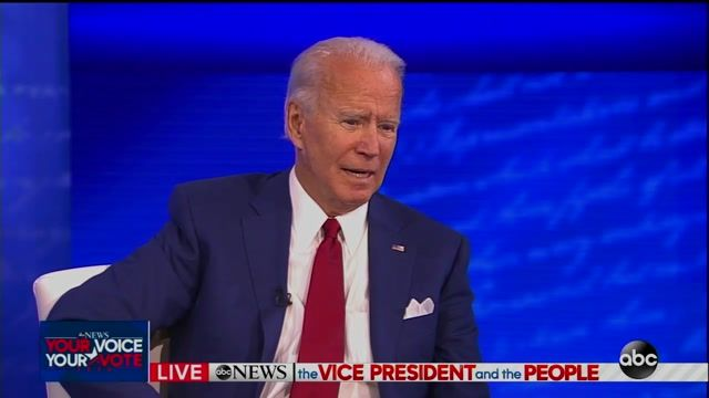 """Biden on what it'd mean if he loses: """"I hope that it doesn't say we are as ... at odds with one another as it appears."""""""