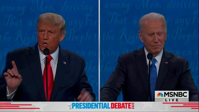 """Trump brags about relationship with NK's leader. Biden: """"That's like saying we had a good relationship with Hitler ..."""""""