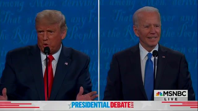 """Biden's comeback to Trump's invoking socialism: """"He's a very confused guy ... I beat all those other people."""""""