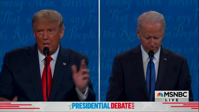 """Trump says """"we're trying very hard"""" to reunite children separated from parents at the border. Biden: """"It's criminal."""""""
