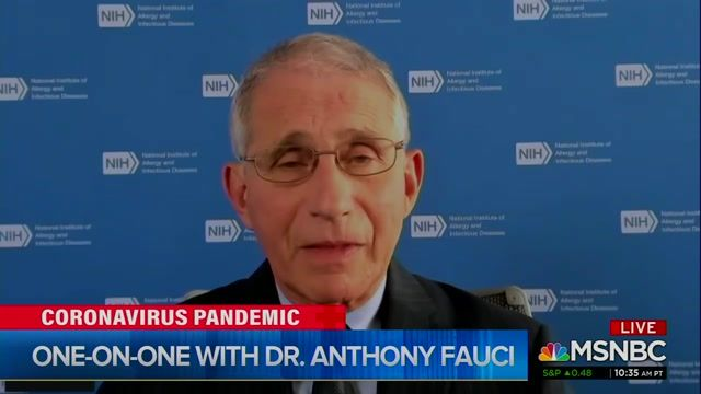 Amid COVID case surge across U.S., Dr. Fauci says Trump hasn't been to a WH COVID task force meeting in several months.