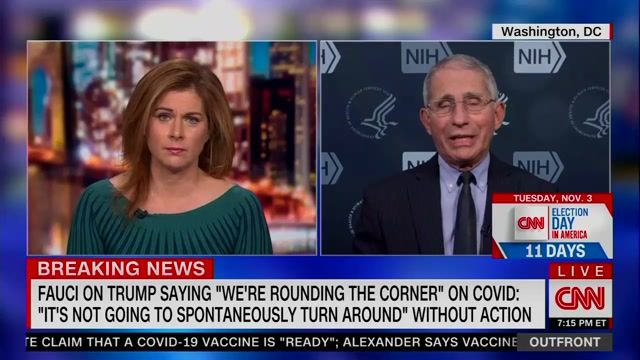 "Dr. Fauci: ""If people are not wearing masks, then maybe we should be mandating it."" (83,000 new cases today, new record)"
