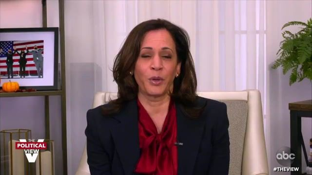 "Sen. Harris on multiple people from VP Pence's team contracting COVID: ""I wish his staff well. This virus is not kind."""