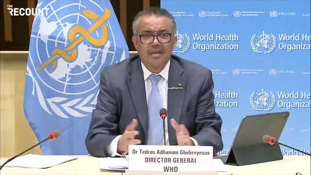 """WHO Director-General Dr. Tedros urges national leaders not politicize COVID: """"A pandemic is not a political football."""""""