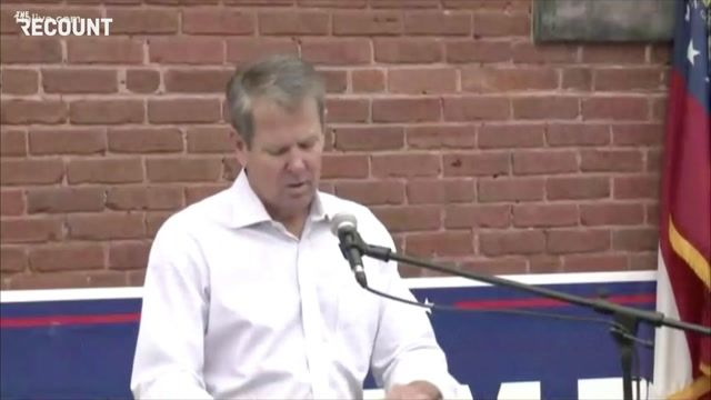 """Gov. Kemp (R-GA) at MAGA event: """"If [Joe Biden] came here looking for electoral college votes, he's in the wrong place."""""""