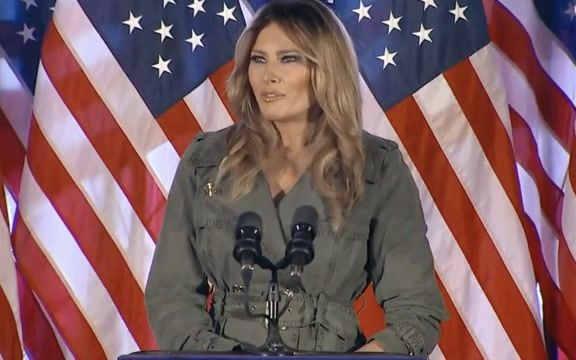 """First Lady Melania makes 1st solo campaign stop since June, 2019: """"I don't always agree with the way he says things …"""""""