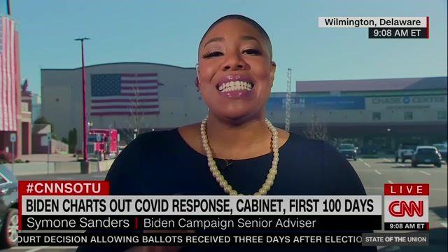 Biden Campaign Senior Adviser Symone Sanders says Biden will announce a COVID task force on Monday.