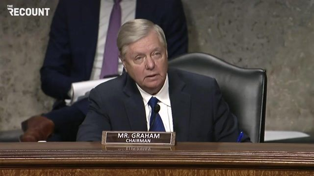"Sen. Lindsey Graham (R-SC) asks Mark Zuckerberg and Jack Dorsey if they have seen ""The Social Dilemma"" on Netflix."