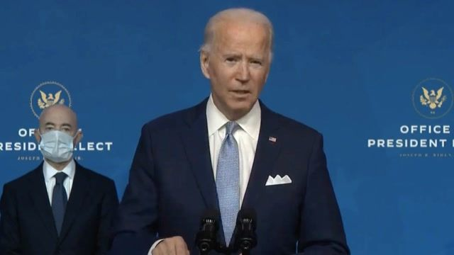 """Joe Biden: """"For the first time ever, we will have a Presidential Envoy on climate."""""""