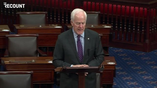 """Sen. John Cornyn (R-TX): """"It's time for our democratic colleagues to realize the election's over."""""""