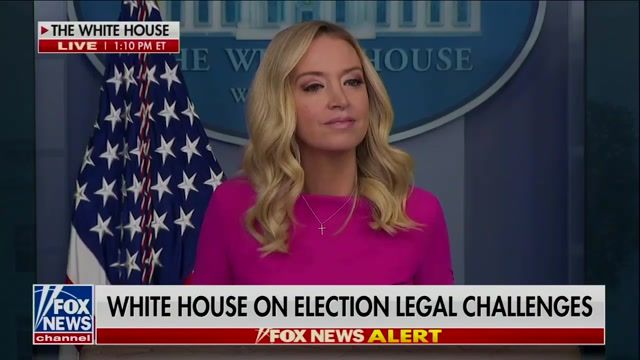 "Press Sec. McEnany says she's ""not aware"" if Trump has spoken to AG Barr lately, though he was at the WH yesterday."