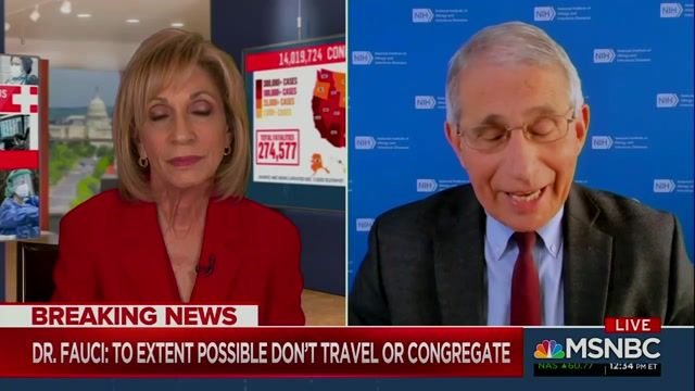 Fauci responds to news of WH & State Dept. planning at least 20 indoor holiday parties and a 900-person indoor event.