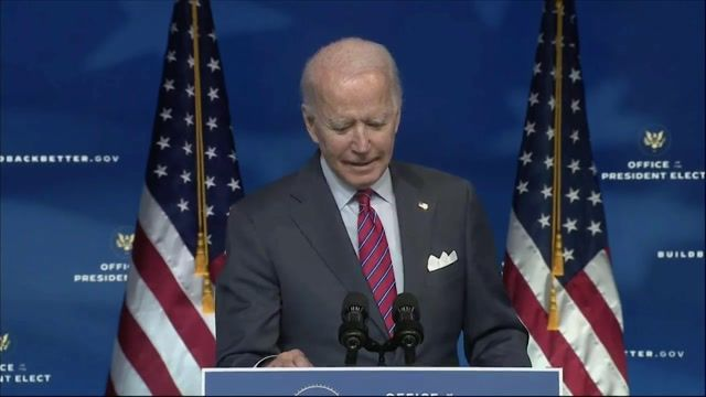 "President-elect Biden says it would be ""stupid"" to share his negotiation tactics for a bipartisan stimulus package."